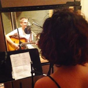 Recording a demo at Dubway Studios